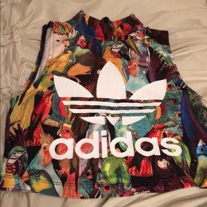 ADIDAS WORK OUR CROP TOP